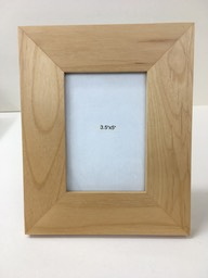 Alder photo frame