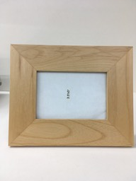 Alder wood photo frame