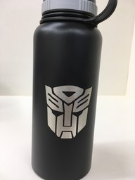 black hydro flask - autobot