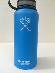 blue hydro flask