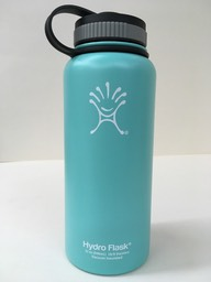 blue/green hydro flask