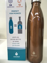 Copper metal bottle