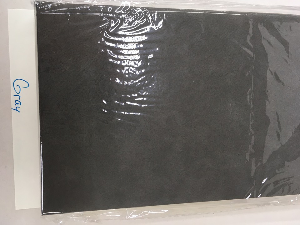 journal - gray with black laser imprint